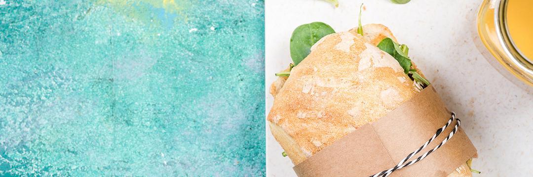 Sanduíche saudável para o almoço é uma boa opção?