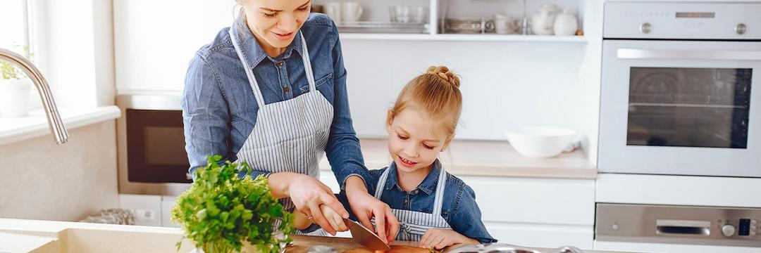 Receitas saudáveis para fazer com crianças (conforme a idade)