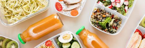 7 ideias diferentes para montar um prato saudável!